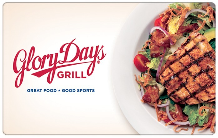 Glory Days Grill eGift