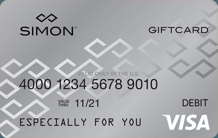 visa simon giftcard premium outlets - Visa Gift Card
