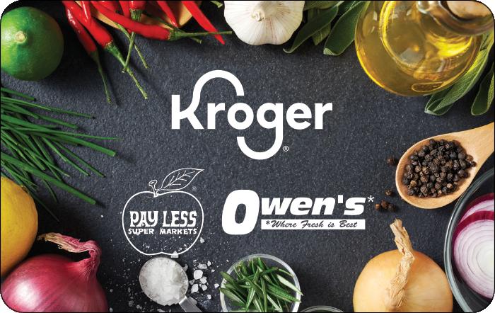 Kroger Family of Stores eGift Card