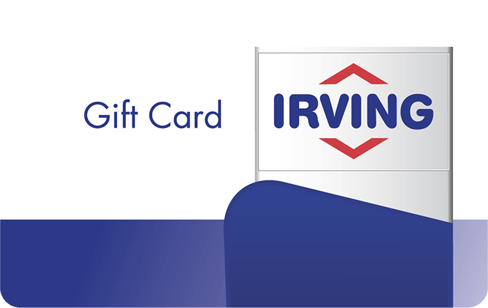Irving Oil Gift Card