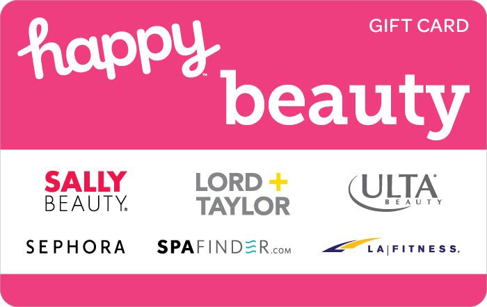 Happy Beauty Gift Card