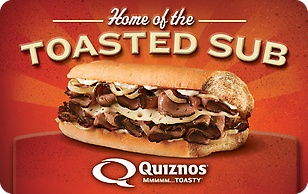 Quiznos eGift Card