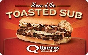 Quiznos eGift Card