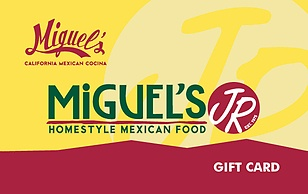 Miguels Restaurants eGift Card