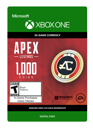 Apex Legends 1000VC $9.99 eGift
