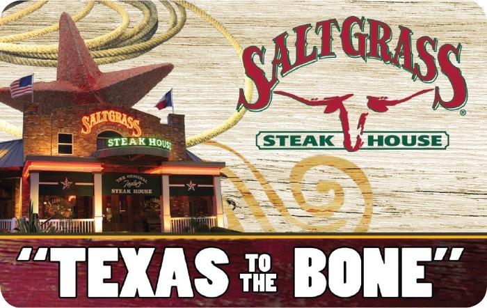 Saltgrass Steak House Gift Card