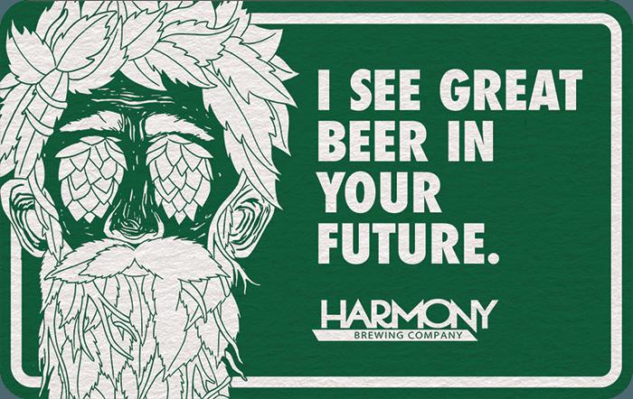 Harmony Brewing Company eGift Card
