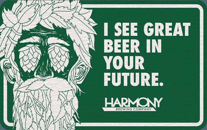 Harmony Brewing Company eGift