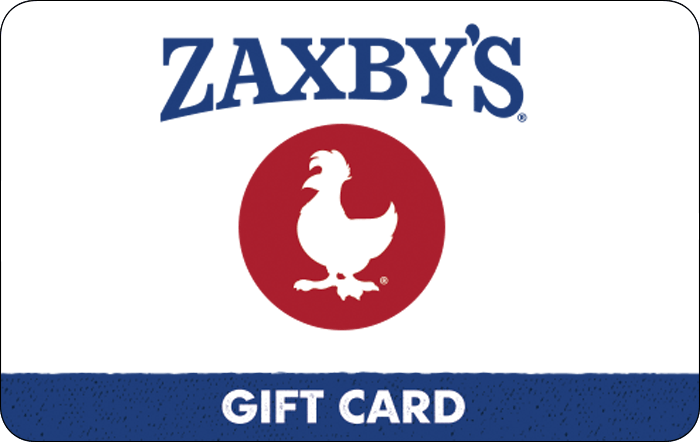 Promotion of Zaxby's Gift Card