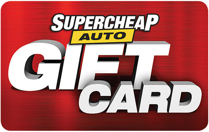 Supercheap Auto Gift Card