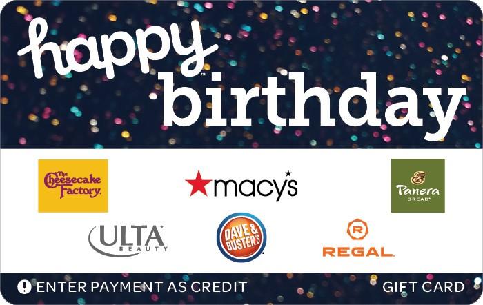 Happy Birthday Gift Card