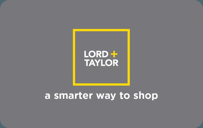 Lord + Taylor eGift