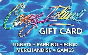 Coney Island eGift Cards