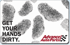 Advance Auto Parts Gift Card