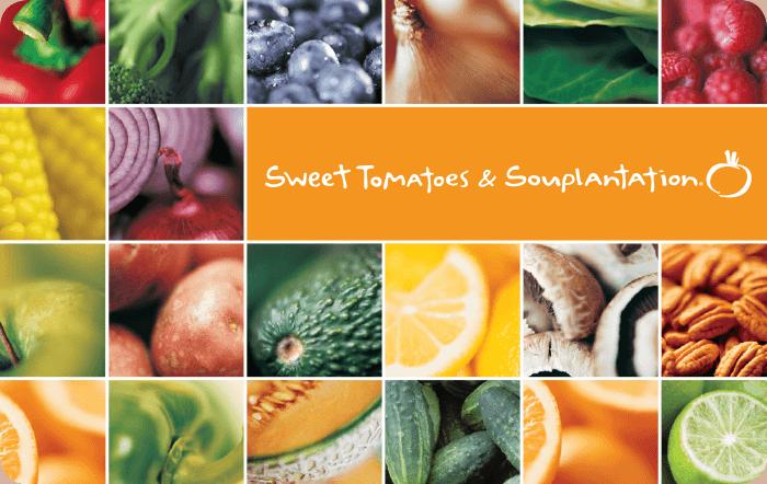 Souplantation & Sweet Tomatoes eGift Card
