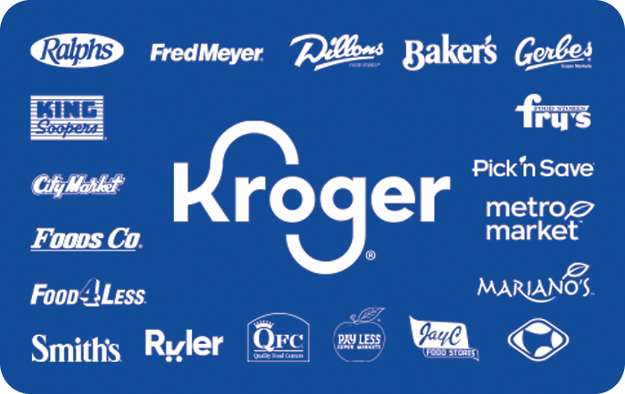 Kroger Family of Stores eGift Card