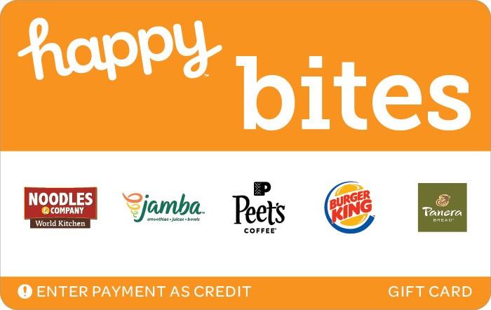 Happy Bites Gift Card