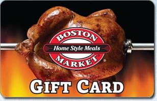 Boston Market eGift