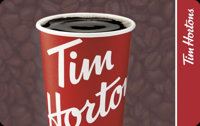 Tim Hortons gift card
