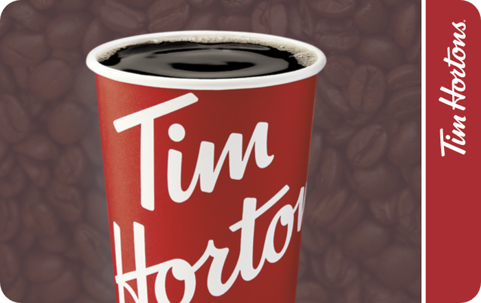 Tim Hortons eGift