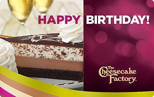 The Cheesecake Factory eGift