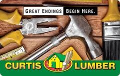 Curtis Lumber Gift Card