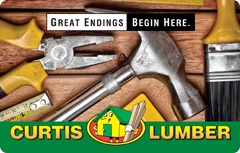 Curtis Lumber A Gift For You Gift Card