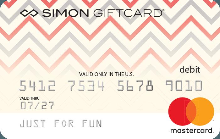 Simon Mastercard Gift Card