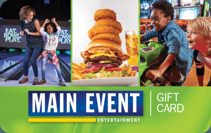 Main Event eGift Cards