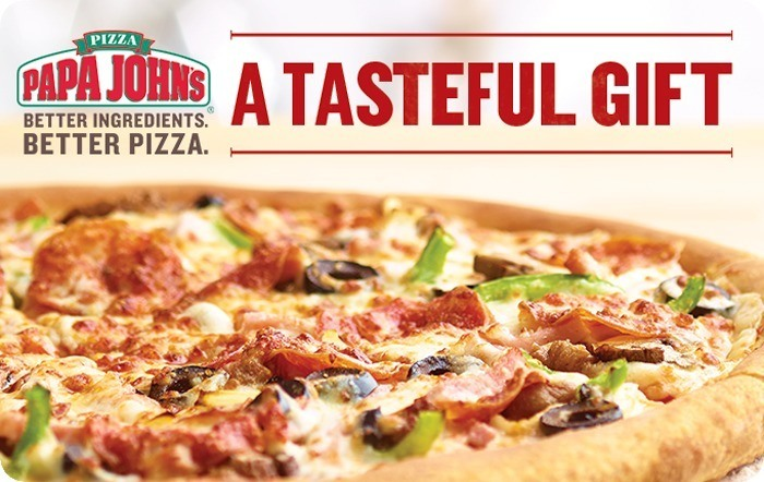 Papa Johns Pizza eGift Card
