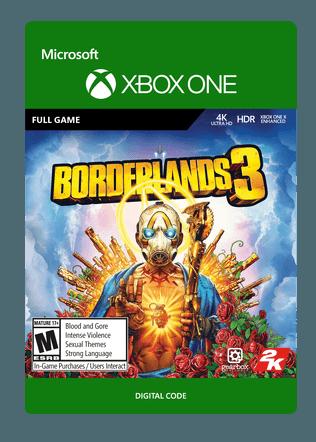 XBOX C2C BORDERLANDS 3 STANDARD EDITION $59.99