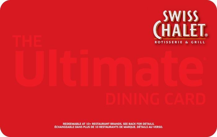 Swiss Chalet eGift Card