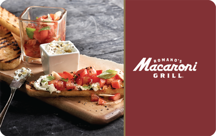 Macaroni Grill Gift Card
