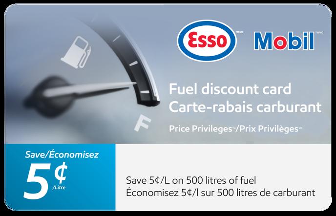 Esso Price Privileges eGift Card