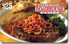 Original Roadhouse Grill Gift Card