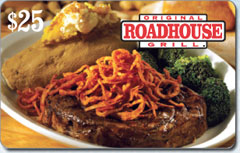 Original Roadhouse Grill Gift Cards