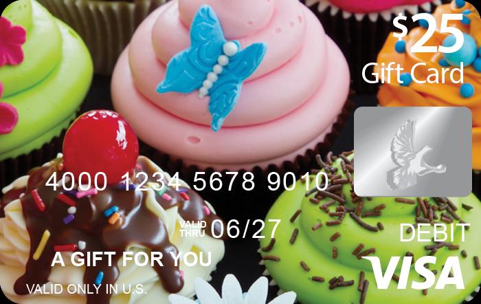 Cupcake Visa® Gift Card