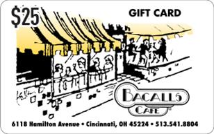 Bacalls Café eGift