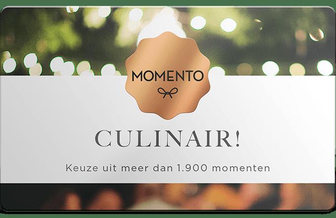 Momento keuzebelevenis 'Culinair'