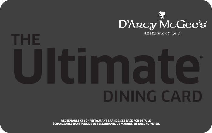 D'Arcy McGee's eGift Card