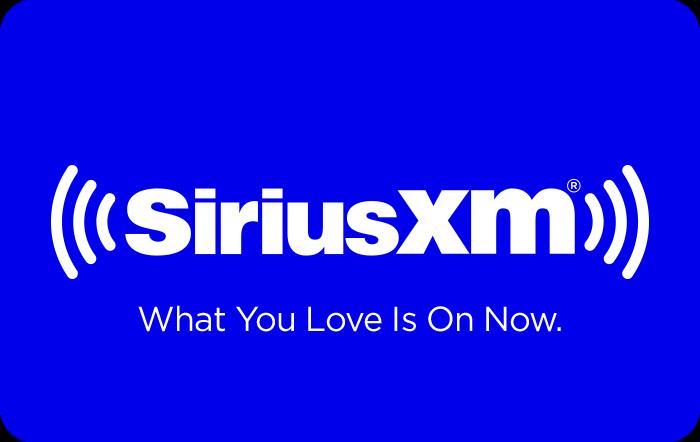 SiriusXM eGift Card