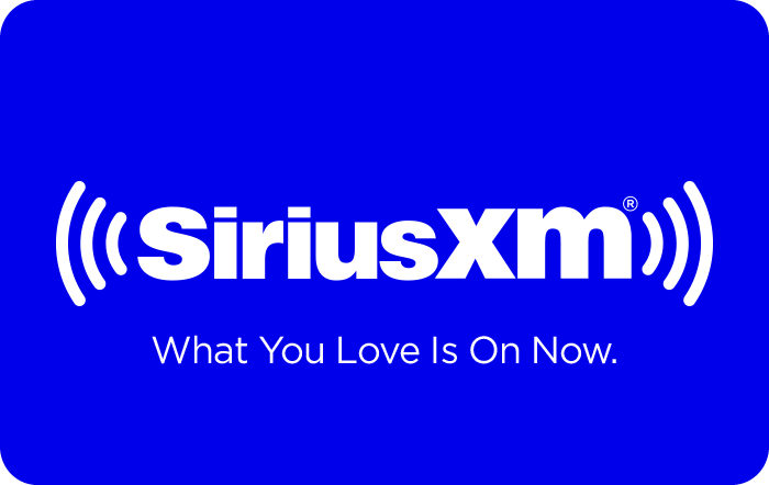 SiriusXM® eGift Card