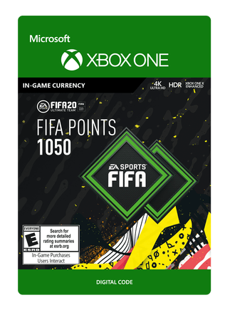 FIFA 20 ULTIMATE TEAM FIFA POINTS 1050