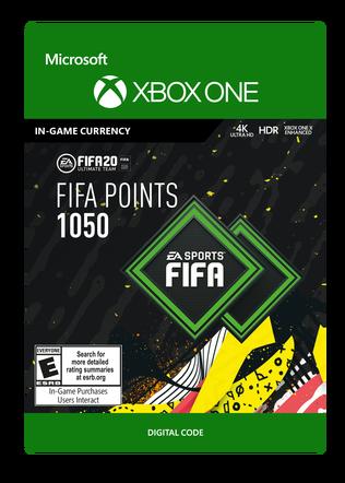 FIFA 20 ULTIMATE TEAM FIFA POINTS 1050