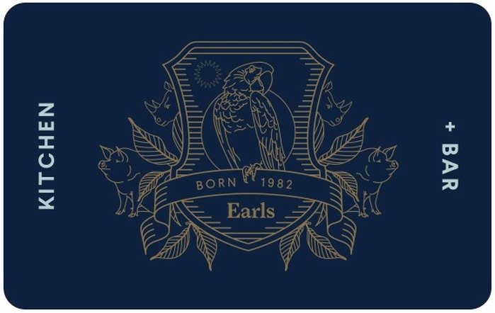 Earls Restaurants eGift Card