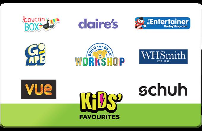 Kids' Favourites Gift Card