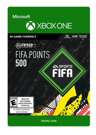 FIFA 20 ULTIMATE TEAM FIFA POINTS 500