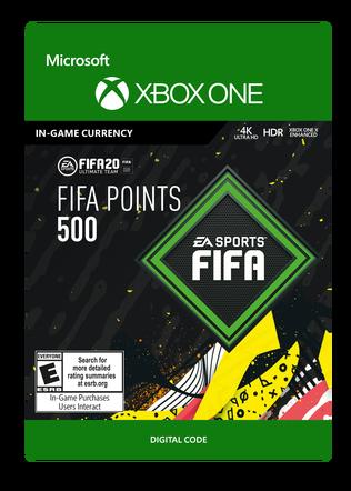 FIFA 20 ULTIMATE TEAM FIFA POINTS 500