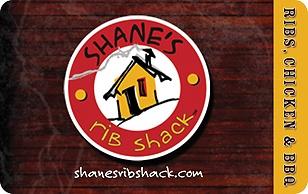 Shanes Rib Shack eGift Card