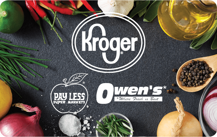 Kroger Owens Pay Less Gift Card